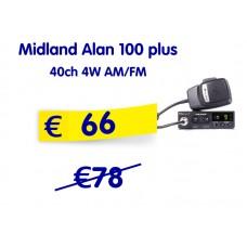 Midland Alan 100 plus 40ch 4W AM/FM