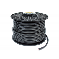 Power cable black 50mm ²
