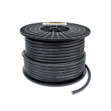 Power cable black 4mm²