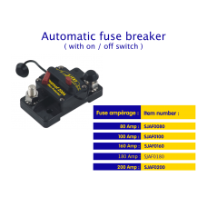 Automatic fuse breaker 80 Amp