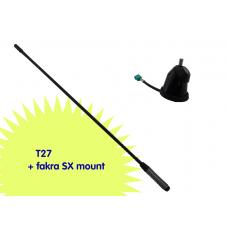 T27 + SX mount FAKRA