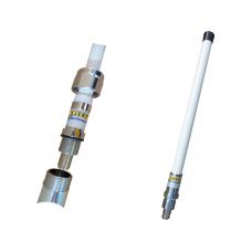 UHF 4G 0dBd fiberglass 0,44m multiband