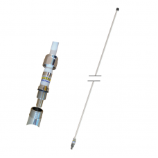 UHF 46A (380-400Mhz) 3 dBd fiberglass 1,54m