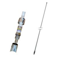 VHF 76 3dBd fiberglass antenne 2,6m