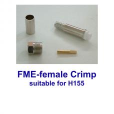 FME female crimp H155