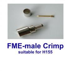 FME male crimp H155