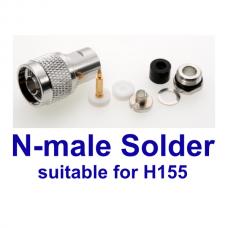 N-male solder H155